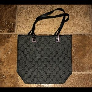 Authentic Gucci compact tote